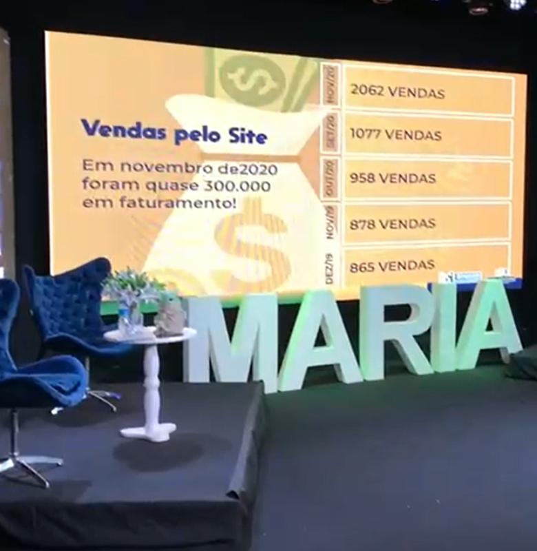 live maria brasileira